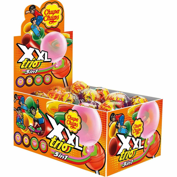 Chupa Chups XXL Trio, by Chupa Chups,  and more Confectionery at The Professors Online Lolly Shop. (Image Number :12411)