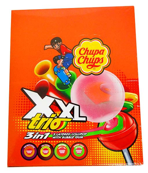 Chupa Chups XXL Trio, by Chupa Chups,  and more Confectionery at The Professors Online Lolly Shop. (Image Number :13038)