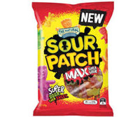 Sour Patch - Max Super Sour and more Confectionery at The Professors Online Lolly Shop. (Image Number :12410)