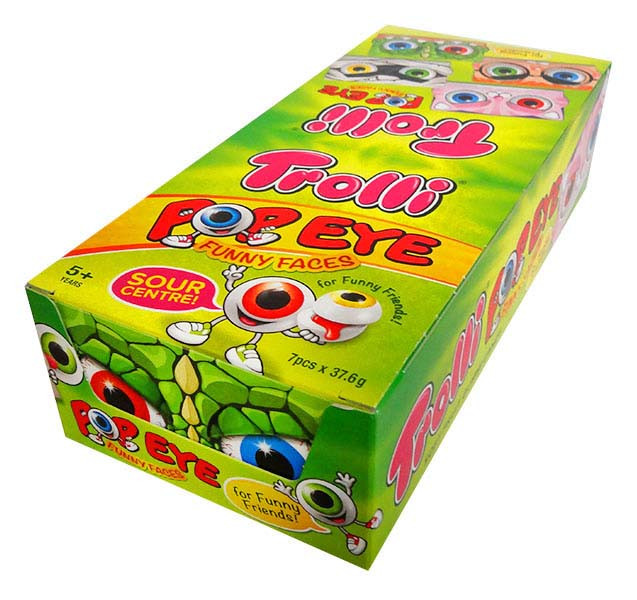 Trolli Pop Eye, by Trolli,  and more Confectionery at The Professors Online Lolly Shop. (Image Number :13290)