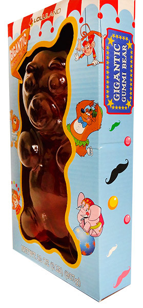 Gigantic Gummi Bear and more Confectionery at The Professors Online Lolly Shop. (Image Number :13063)