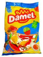 Damel Jelly Filled Crocodiles (1kg bag)