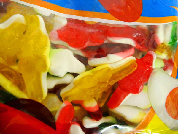 Damel Jelly Filled Crocodiles and more Confectionery at The Professors Online Lolly Shop. (Image Number :13040)