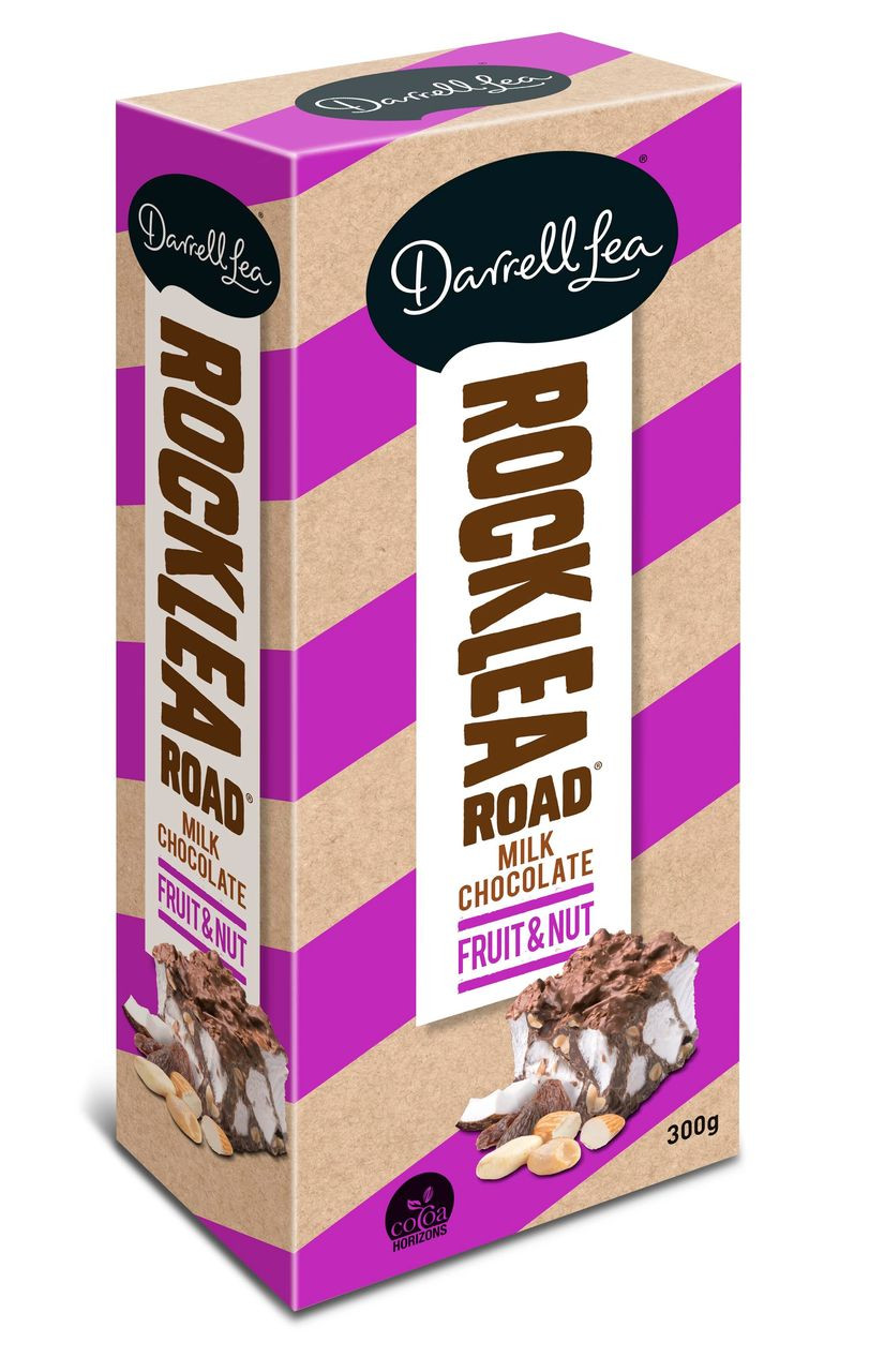Darrell Lea Rocklea Road - Big Block - Fruit and Nut block, by Darrell Lea,  and more Confectionery at The Professors Online Lolly Shop. (Image Number :12432)