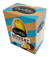 Darrell Lea Nougat Egg - Blue with Fluffy Chick and more Confectionery at The Professors Online Lolly Shop. (Image Number :14584)