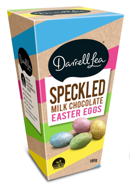 Darrell Lea Speckled Milk Chocolate Eggs and more Confectionery at The Professors Online Lolly Shop. (Image Number :12452)