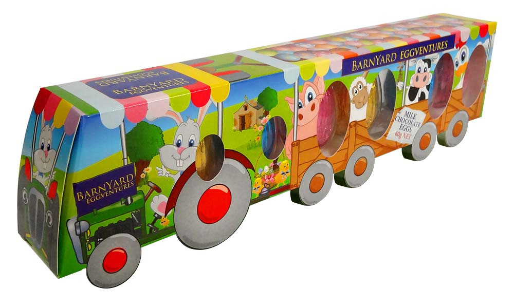 Barnyard Eggventures Tractor and more Confectionery at The Professors Online Lolly Shop. (Image Number :12745)