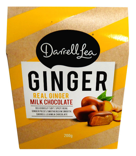 Darrell Lea - Milk Chocolate Ginger and more Confectionery at The Professors Online Lolly Shop. (Image Number :13142)