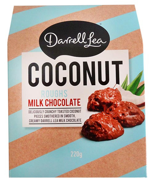 Darrell Lea - Coconut Rough, by Darrell Lea,  and more Confectionery at The Professors Online Lolly Shop. (Image Number :12926)