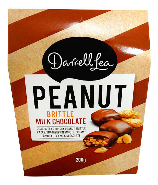 Darrell Lea -Peanut Brittle, by Darrell Lea,  and more Confectionery at The Professors Online Lolly Shop. (Image Number :13144)