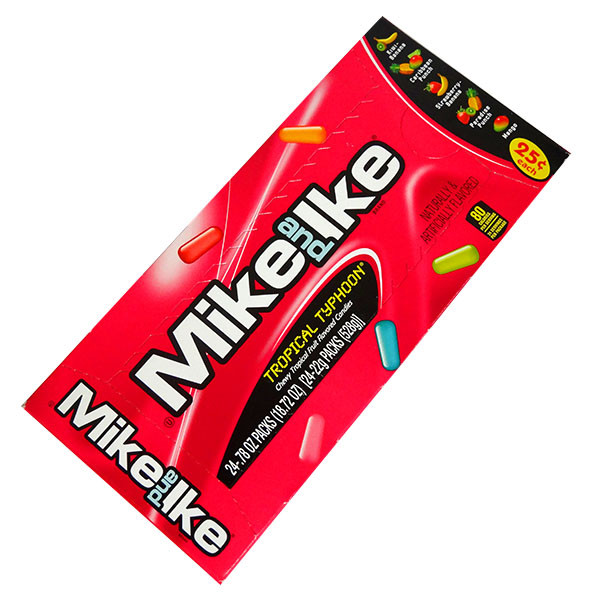 Mike and Ike - Tropical Typhoon, by Just Born,  and more Confectionery at The Professors Online Lolly Shop. (Image Number :12975)