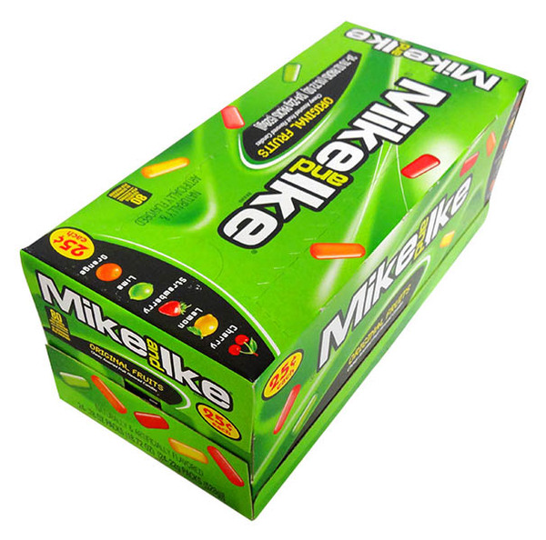 Mike and Ike - Original Fruits, by Just Born,  and more Confectionery at The Professors Online Lolly Shop. (Image Number :12970)