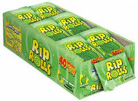 Sour Rip Rolls - Green Apple (24 x 40g in a display box)