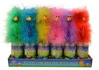 Fluffy Chicken Pen with easter eggs (24x 50g)