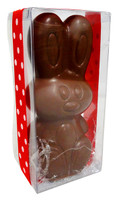 Belgian Milk Chocolate Easter Bunny and more Confectionery at The Professors Online Lolly Shop. (Image Number :12749)