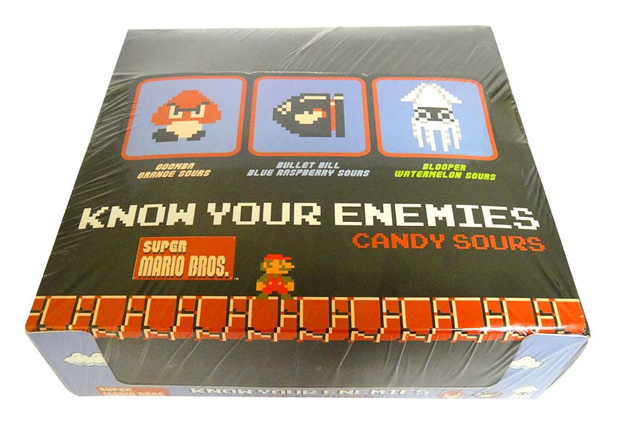 Super Mario - Know Your Enemies and more Confectionery at The Professors Online Lolly Shop. (Image Number :14256)