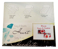 Chocolate Gems - Blossom Pack - Hearts and StarDrops (14x120g packs)