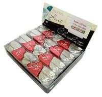 Chocolate Gems - Romeo Hearts - Love You Mum Pack (16x125g packs)