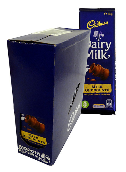 Cadbury Dairy Milk Block, by Cadbury,  and more Confectionery at The Professors Online Lolly Shop. (Image Number :13879)