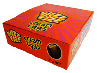 Wizz Fizz Cream Eggs and more Confectionery at The Professors Online Lolly Shop. (Image Number :12789)