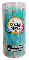 Crystal sticks - Baby Blue and more Confectionery at The Professors Online Lolly Shop. (Image Number :12765)