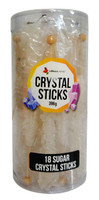 Crystal sticks - White and more Confectionery at The Professors Online Lolly Shop. (Image Number :12771)