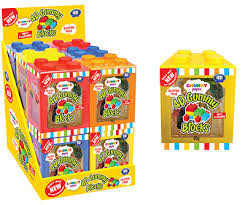 Chunky Funkeez 4D Gummy Blocks and more Confectionery at The Professors Online Lolly Shop. (Image Number :12575)
