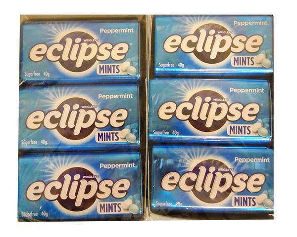 Eclipse Mints - Peppermint, by Wrigley,  and more Confectionery at The Professors Online Lolly Shop. (Image Number :12938)