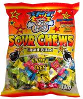 TNT Sours - liquid filled (1kg Bag)
