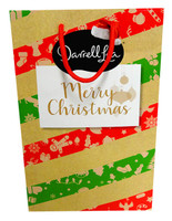 Darrell Lea Milk Chocolate Christmas Gift Bag, by Darrell Lea,  and more Confectionery at The Professors Online Lolly Shop. (Image Number :13951)