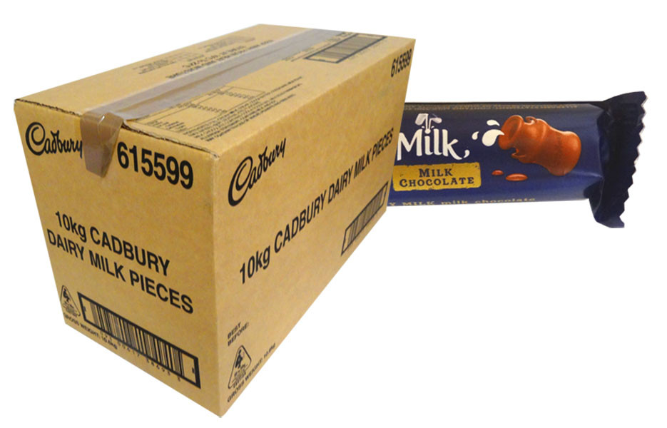 Cabdury Dairy Milk Pieces, by Cadbury,  and more Confectionery at The Professors Online Lolly Shop. (Image Number :13940)