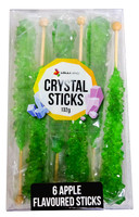 Crystal sticks - Green(6 x 22g)