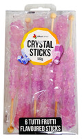 Crystal sticks - Lavender, by Lolliland,  and more Confectionery at The Professors Online Lolly Shop. (Image Number :12853)
