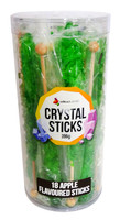 Crystal sticks - Green, by Lolliland,  and more Confectionery at The Professors Online Lolly Shop. (Image Number :12851)
