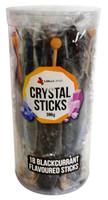 Crystal sticks - Black (18 x 22g)