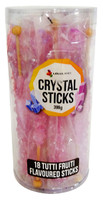 Crystal sticks - Lavender, by Lolliland,  and more Confectionery at The Professors Online Lolly Shop. (Image Number :12854)