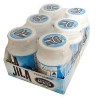 Jila  99% Sugar Free Mints - Peppermint ( 6 x 72g bottle)