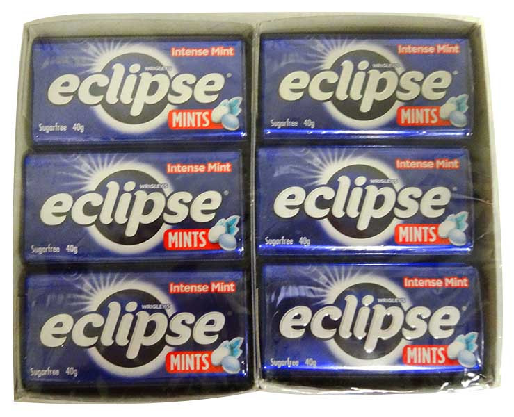 Eclipse Mints - Intense Mint, by Wrigley,  and more Confectionery at The Professors Online Lolly Shop. (Image Number :12936)