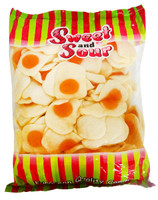 Sweet & Sour Giant Fried Eggs, by Sweet and Sour,  and more Confectionery at The Professors Online Lolly Shop. (Image Number :14259)