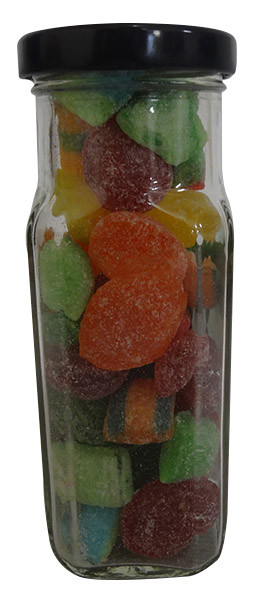 Sour Drops Rock Candy, by The Australian Sweet Company,  and more Confectionery at The Professors Online Lolly Shop. (Image Number :13653)