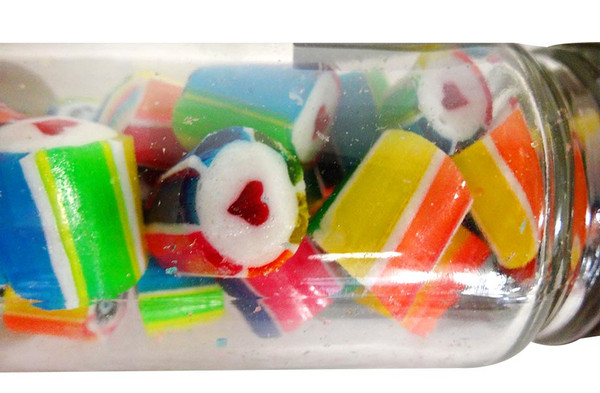 Happy Birthday - Luxe Rock Candy, by The Australian Sweet Company,  and more Confectionery at The Professors Online Lolly Shop. (Image Number :12952)