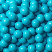Lolliland Choc Balls - Blue with Coconut Flavour (1kg bag)
