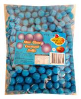 Lolliland Choc Balls - Blue with Coconut Flavour (1kg bag)