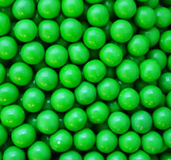 Lolliland Choc Balls - Green with Spearmint Flavour, by Lolliland,  and more Confectionery at The Professors Online Lolly Shop. (Image Number :12919)