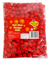 Lolliland Choc Balls - Red with Orange Flavour (1kg bag)