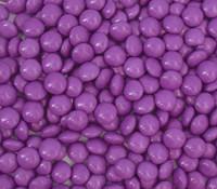 Candy Showcase Choc Buttons - Purple (1kg bag)