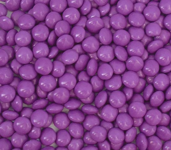 Candy Showcase Choc Buttons - Purple and more Confectionery at The Professors Online Lolly Shop. (Image Number :12910)