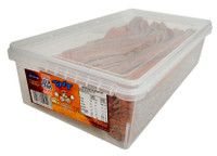 Tnt Sour Straps - Choc Orange (200 pc Display unit)