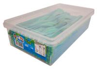 Tnt Sour Straps ka-bluey - Blue Raspberry & Lime Blast (200 pc Display unit)
