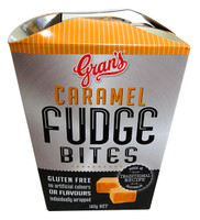 Gran's Fudge Bite  - Caramel Fudge (140g box x 6 in a display box)